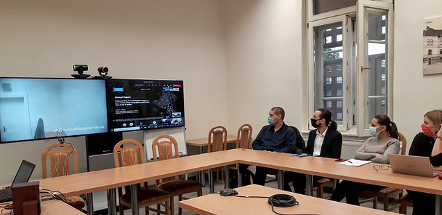 PhD Colloquium at UPJŠ