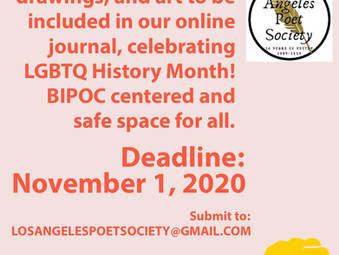 New LGBTQ Online Literary Journal: Call for Submissions!
