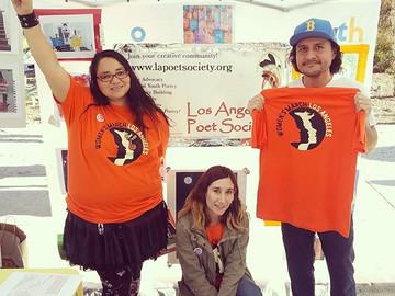 Los Angeles Poet Society at Women's March LA!