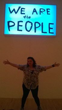 "at MOCA ""We are the People!"""