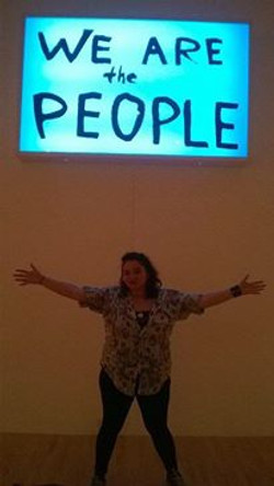 """at MOCA """"We are the People!"""""""