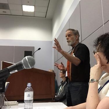 John at the Panel
