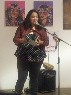 Reading at AWP LAPS event