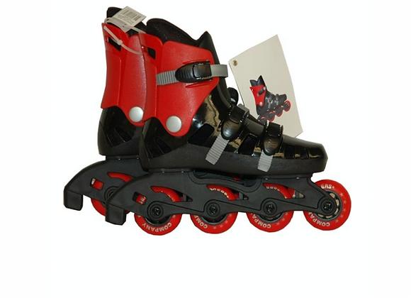 Roller in line rouge et noir