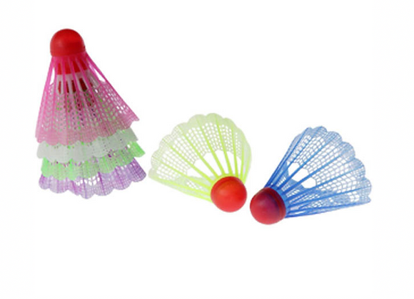 Volants de Badminton - Multi couleurs