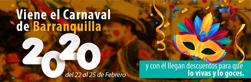 Disfruta de descuentos para gozar el Carnaval de Barranquilla