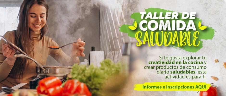 TALLER DE COMIDA SALUDABLE