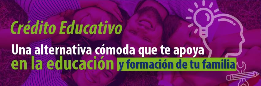 Con el crédito Educativo Fondeargos tienes una alternativa cómoda para la educación de la familia