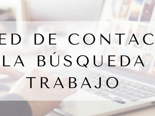 La red de contactos en la búsqueda de trabajo