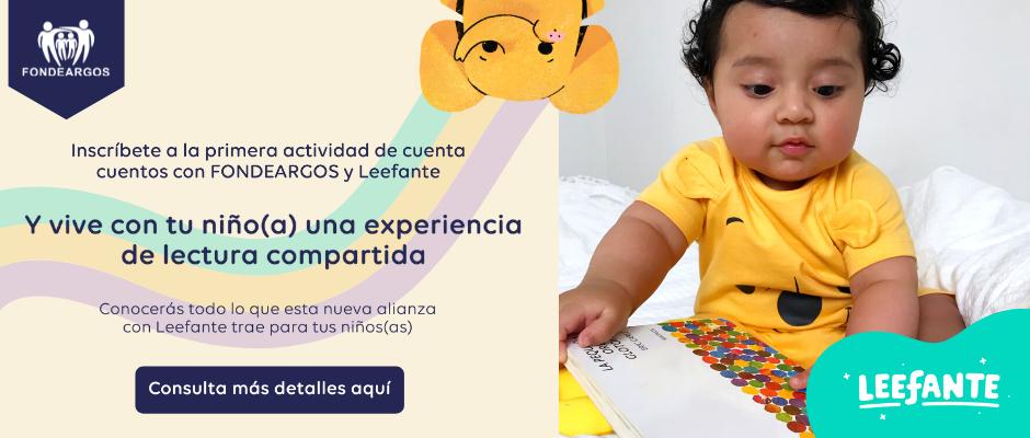 Inscríbete en los Cuenta cuentos para niños(as)