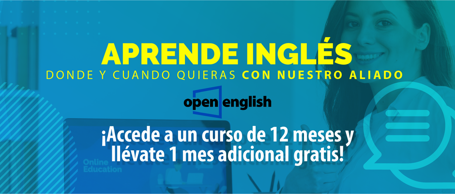 Aprende inglés con Open English