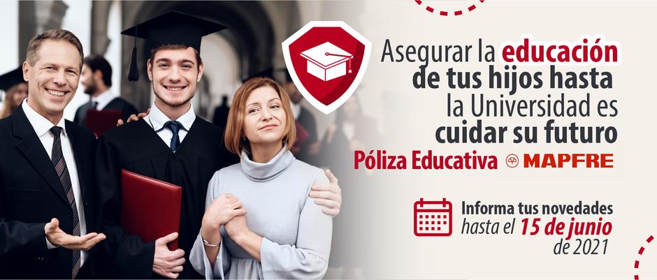Póliza Educativa, informa tus novedades