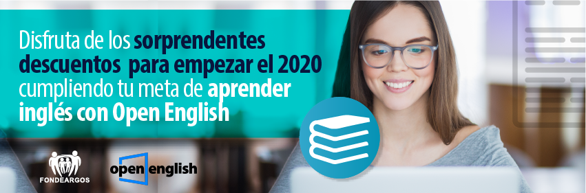 Aprende Inglés con Open English y FONDEARGOS