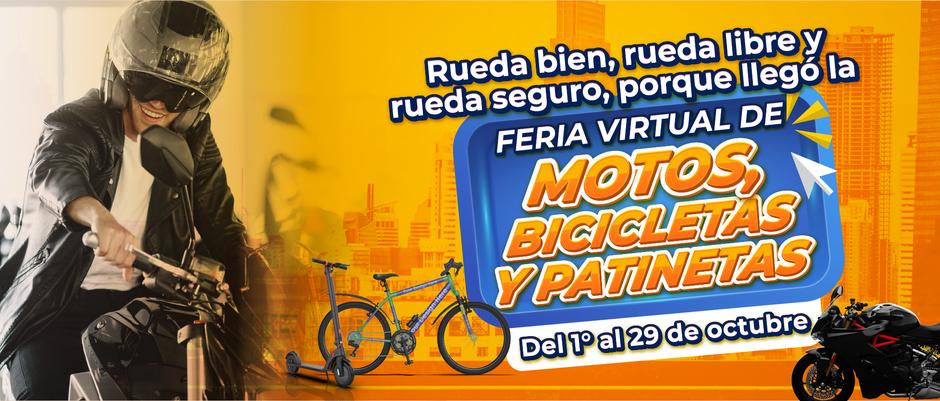 FERIA DE MOTOS, BICICLETAS Y PATINETAS