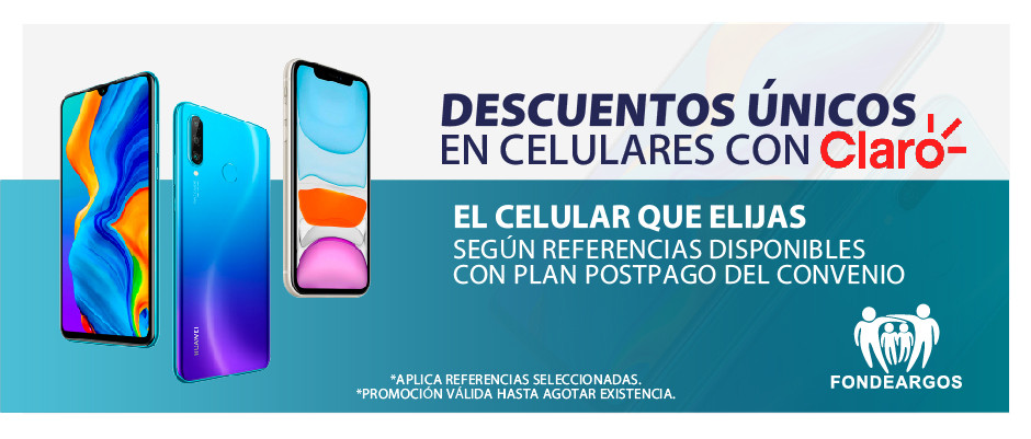 Descuentos especiales en Celulares con CLARO