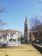 Le kiosque et l'église