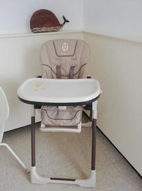 chaise haute modulable