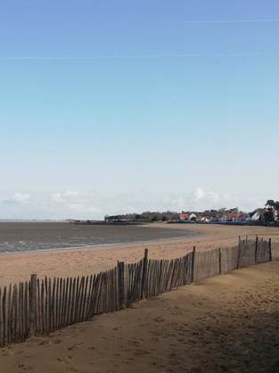 Plage Nord à marée basse