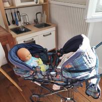 Bébés et leur poussette