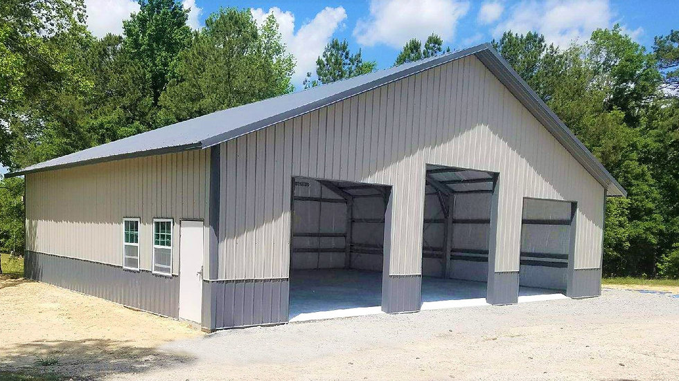 6 Car Garage For RVs Trucks Trailers Tractors and More