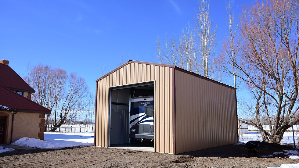 RV, Boat or Vehicle Storage 20 x 30 x 14 3:12