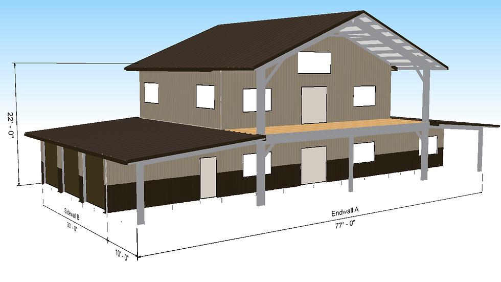 Grand Lodge 100% Steel Home