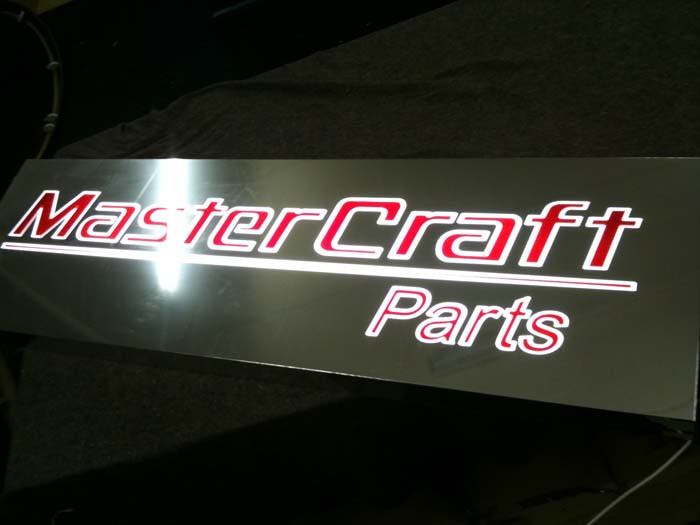 mastercraft sign tray