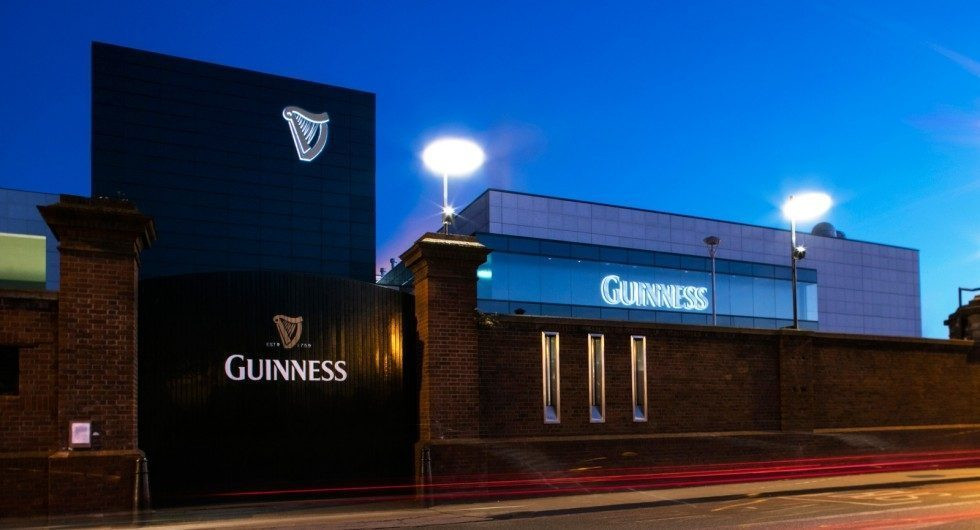 Guinness Brewery Channel Letters