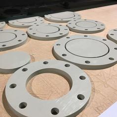 cnc-routered-polyethylene-holed-flange.J