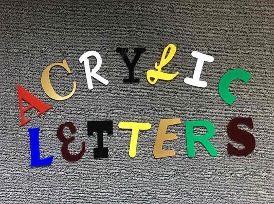 Signage Letters