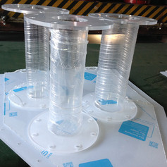 cnc-cut-flanges-with-acrylic-tube.JPG