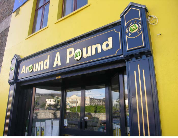 around a pound