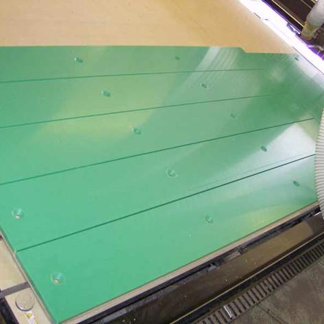 cnc-machined-green-nylon-machine ways.jp