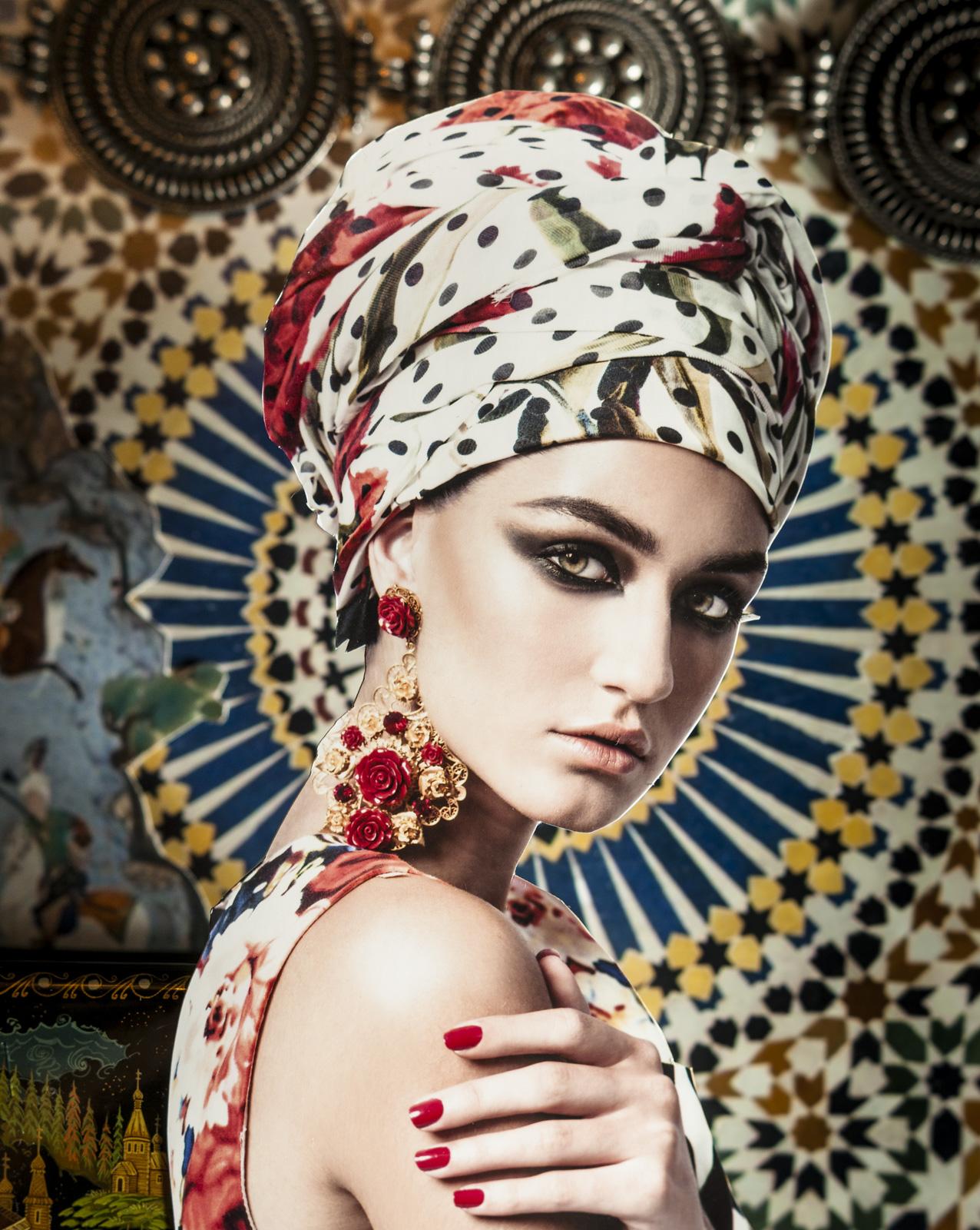 Revista Caras - Moda pañuelos