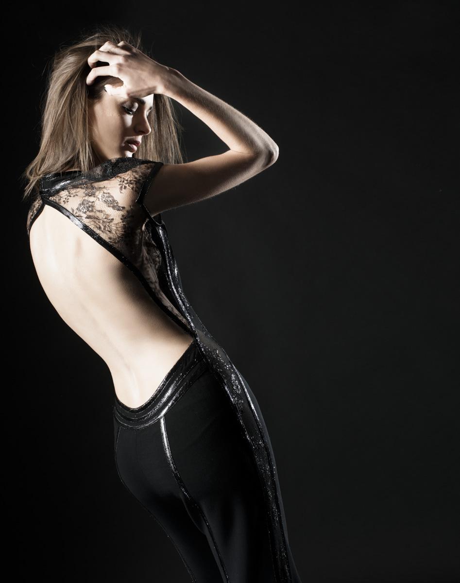 Revista Mujer - Moda negro