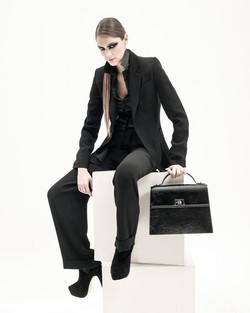 Revista PM - Moda blanco y negro