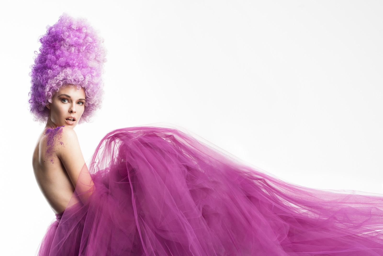 Revista Caras - Moda Orquídea