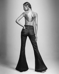 Revista Mujer - Moda jeans