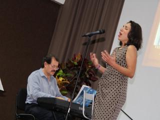 Al rescate del filing: una fusión de  bolero y jazz se presentó en el Planetario de Cancún.