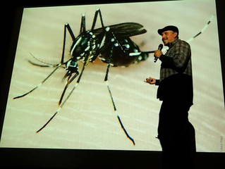 El biólogo Roberto Rojo y su interesante charla Bichos