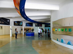 Pasillo  museográfico