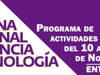 Arranca la 21ª Semana Nacional de Ciencia y Tecnología (SNCyT) en el Planetario de Cancún