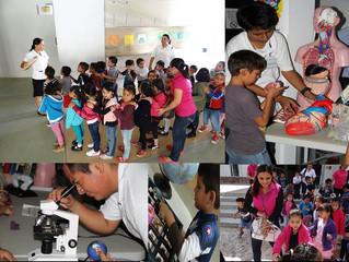 Actividad en Ka'Yok' durante la 21ª Semana Nacional de Ciencia y Tecnología