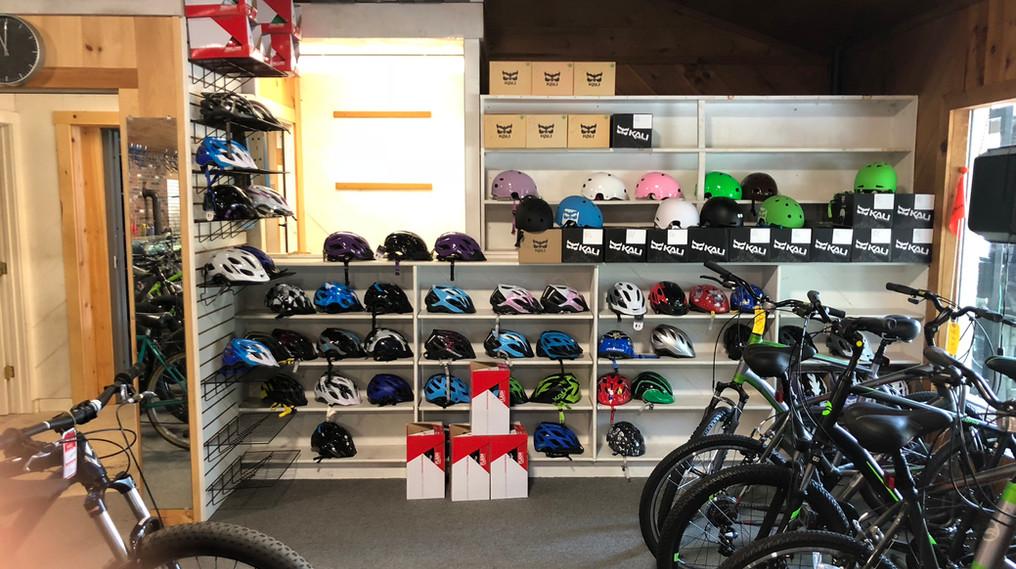 Many Bike Accessories