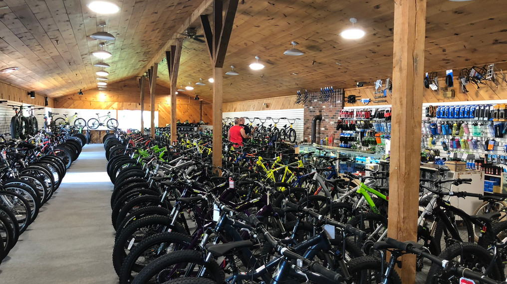 Many Bikes to Choose From