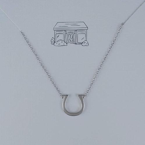 lucky 'horse shoe' necklace