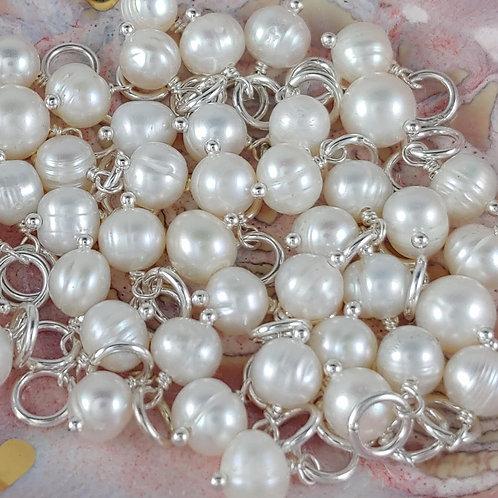 freshwater pearl dangle