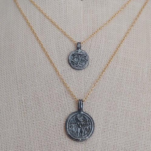 layered talisman necklaces #1