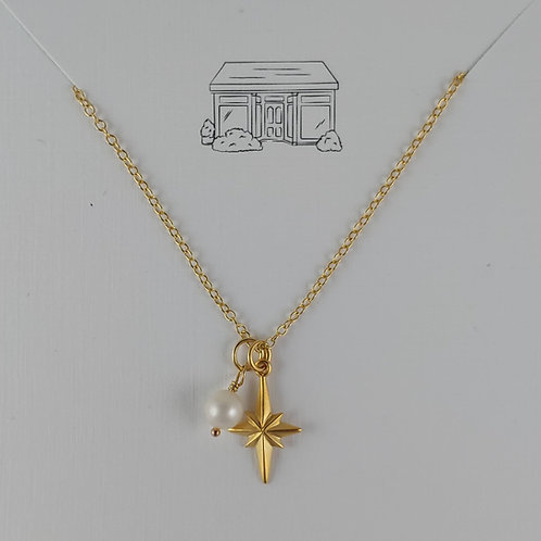 gold 'star' necklace