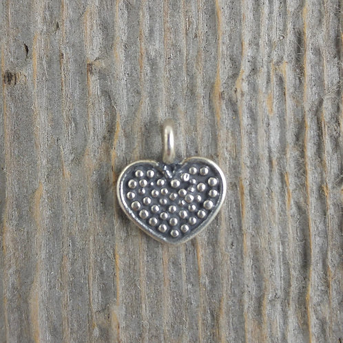 sterling silver heart charm #2